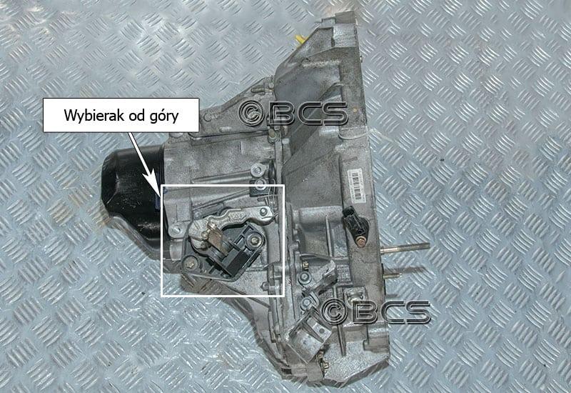 Aktualne Skrzynie biegów Renault typ JB3 - informacje SB77