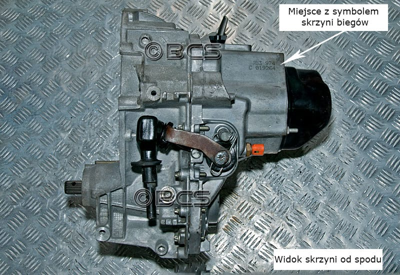 Wspaniały Skrzynie biegów Renault typ JB3 - informacje BZ36